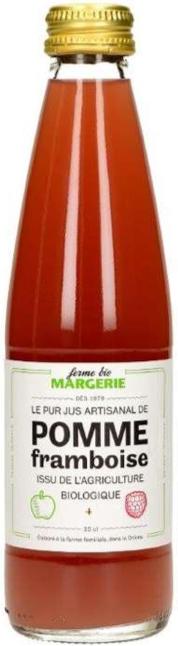 Bouteille de jus de fruits Pomme Framboise