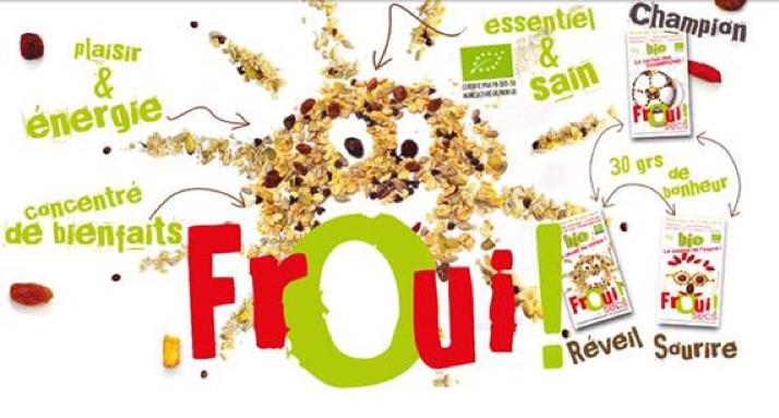 Sachets individuels de fruits secs Froui